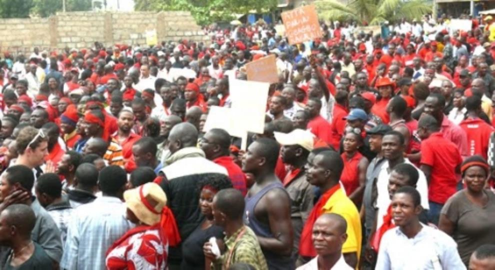 Massive Demonstration Hits Bolga Over Poor Roads