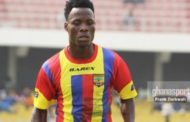 Midfielder Samudeen Ibrahim Suspended by Hearts of Oak