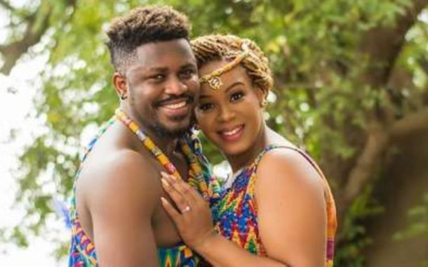 Traditional Outfits Never Looked This Good; Check Out Harry Bentil's Trad. Wedding