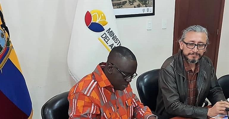 Ghana, Ecuador To Cooperate On Forestry Development