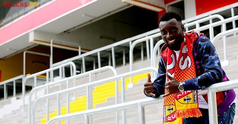 RC Lens Ghanaian Forward Grejohn Kyei Knocked Down By Injury