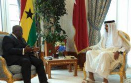 Emir Of Qatar Lauds Akufo-Addo's Good Governance