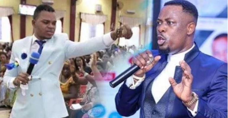 Video: Angry Obinim Fires Prophet Nigel Over 'Heaven Trip'