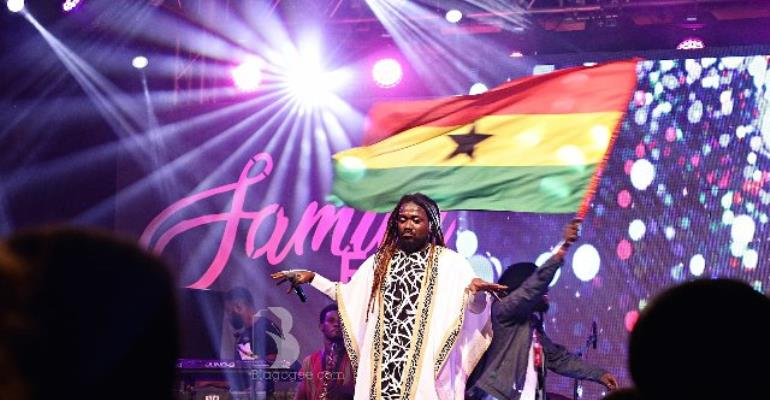 Videos: 'Untamed' Samini holds Osu down with Saminifest 2018