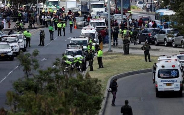 Several dead in car bomb attack at Colombian police school
