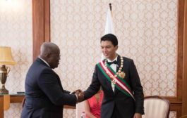 Madagascar President Touts Akufo-Addo's Government as Impressive