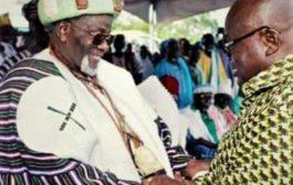 Akufo Addo Gives Glory to God for Enskinment of New Yaa-Naa