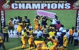 NC Special Competition: Ashanti Gold Beat Nzema Kotoko 1-0 To Emerge As Tier 2 Champion