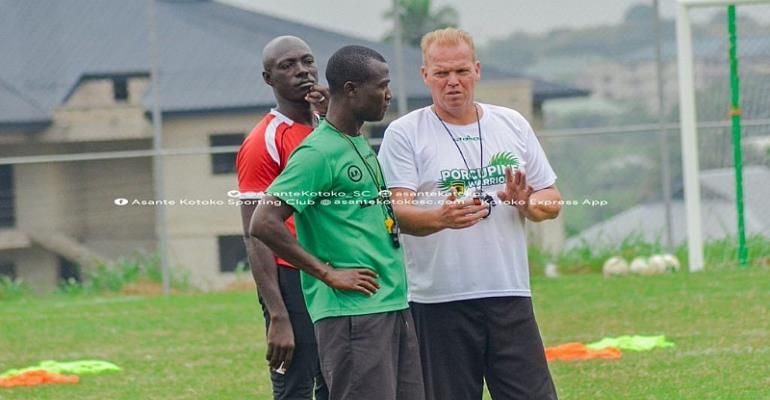CAF Champions League: Kotoko Coach Kjetil Zachariassen Confident Ahead Of Kano Pillars Clash