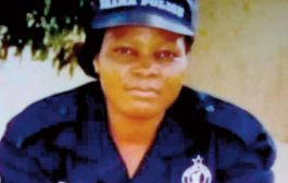 Murdered Police Woman Promoted