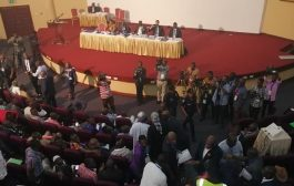 Alhaji Grusah Clash With Kojo Yankah At GFA Extra-Ordinary Congress [PHOTOS]