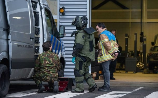 Letter bombs delivered to businesses in the Netherlands