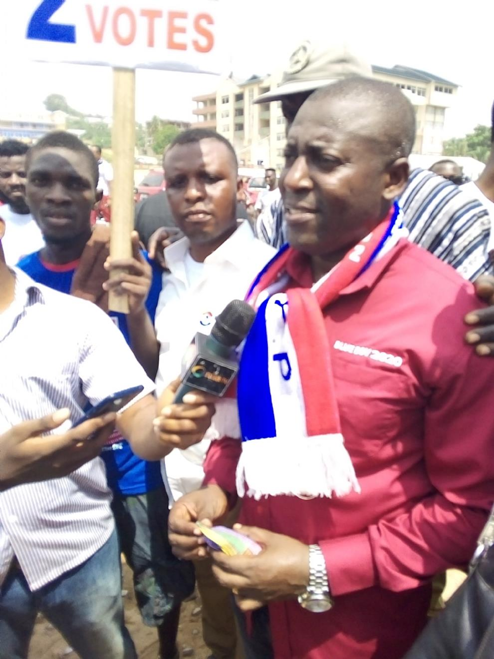 NPP Weija-Gbawe Mafia At Work As Aspirant Meets Locked Up Office