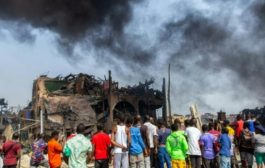 Lagos blast death toll rises to 19