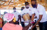 NPP Patriotic Achievers Distribute Nose Masks To Odorkor, Ofankor Market Women