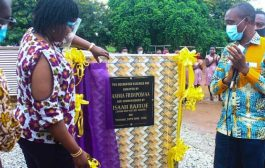 Sunyani: Amma Frimpomaa Donates Water Supply Facility To Odomaseman SHS