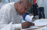 Michel Paa Kojo Bowman Amuah Files Nomination As Independent Candidate For Dadekotopon