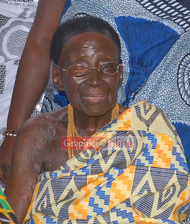 Queenmother of Asante Kingdom dies at 109