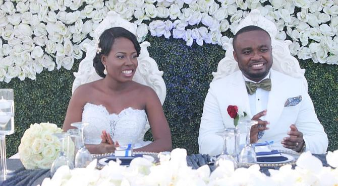 Ekua Asanteba Of Viasat 1 TV Marries Long Time Boyfriend