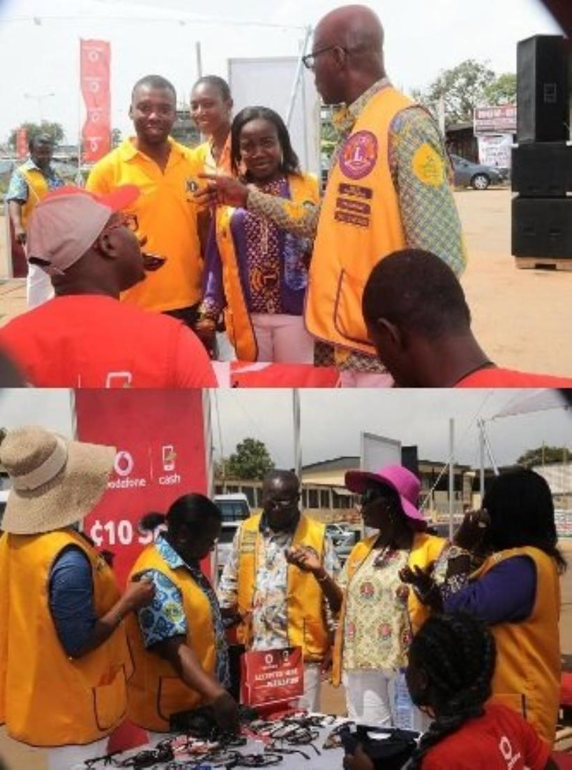 Vodafone Ghana partners Tema Lions Club on eye screening  By GNA