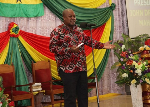 Vote in peace - Mahama