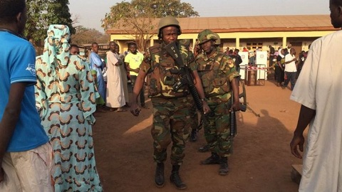 Long queues as Ghanaians vote in tight presidential poll