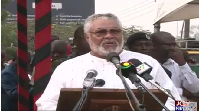 Blame uncouth, corrupt NDC officials for humiliating election defeat - Rawlings