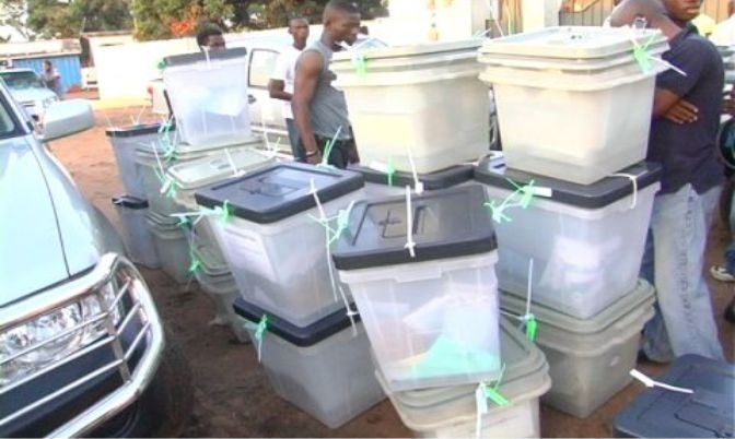 EC replaces NPP seals on ballot boxes in Subin
