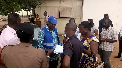 Tema West: Three police officers assault EC officials