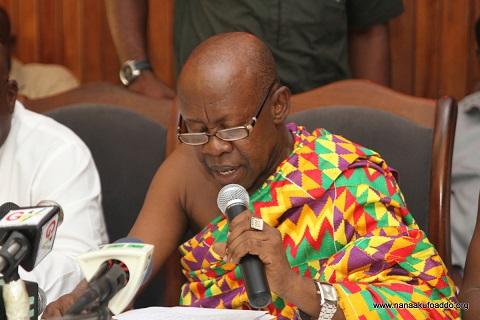 """""""We'll help you fight corruption"""" – Western Region Chiefs to Akufo-Addo"""