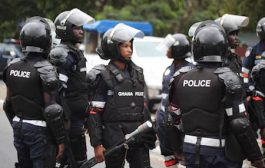 Police whisk away unaccredited NDC man for disrupting process