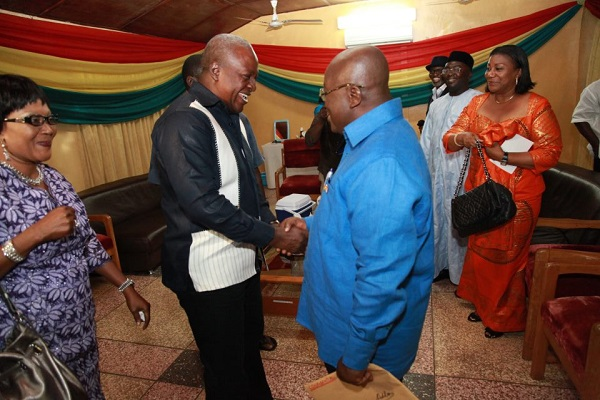 Concede to diffuse tension - Akufo-Addo tells Mahama