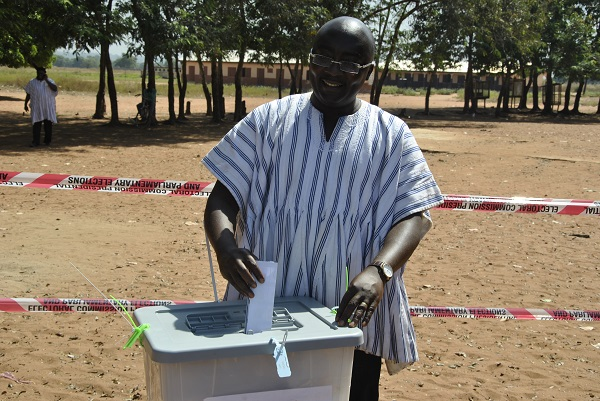 Bawumia votes in Walewale