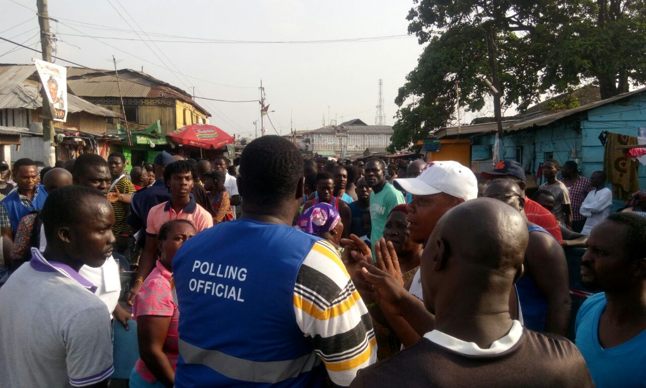 Don't join queues, speak to EC officials first – EC advises voters