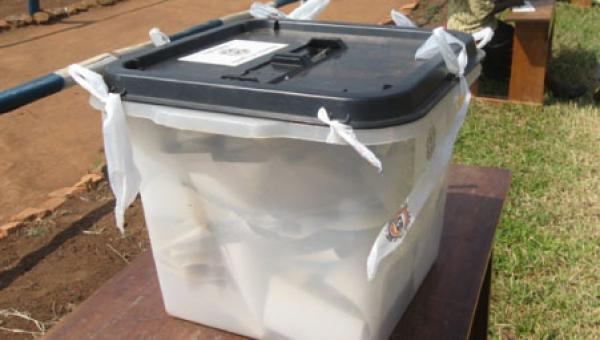 Ballot box arrives at Cape Coast North without seals of opposition parties