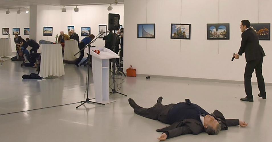BREAKING: Russian Ambassador to Turkey Assassinated