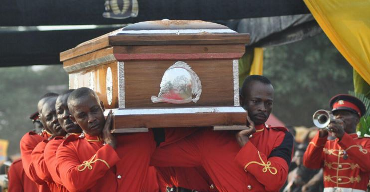 Asantehemaa laid to rest