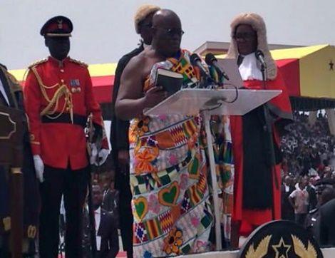 FULL TEXT: President Nana Addo's Inaugural Address