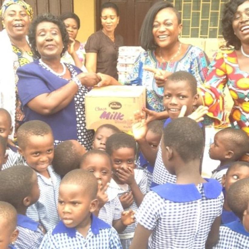 Gender Minister designate marks birthday at Osu Children's Home