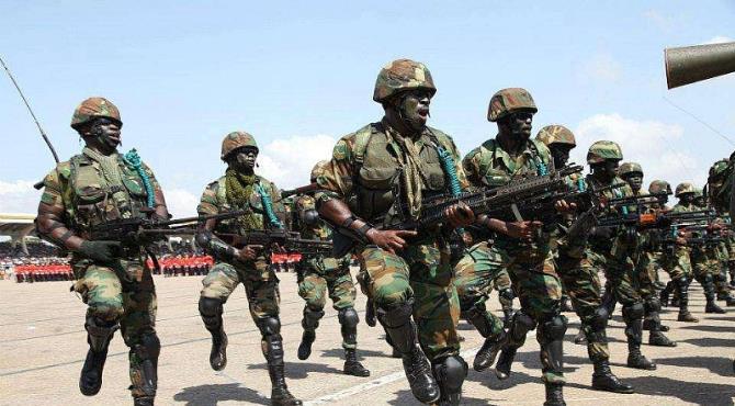 15 AK-47 Wielding Soldiers Ransack Kofi Adams' House, Seize 5 Cars