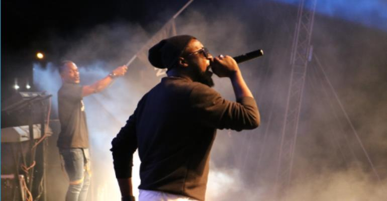 Guru Given Heroic 'Home Support' At VGMA 2017 Nominees Jam In Sunyani