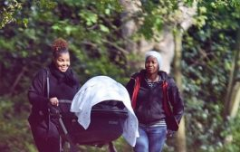 Photos: Janet Jackson steps out with son after divorce
