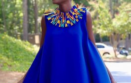Hamamat Montia breaks the internet with kente-inspired outfit