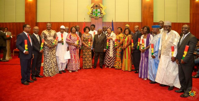 Here's a full list of Akufo-Addo's 22 newly appointed Ambassadors