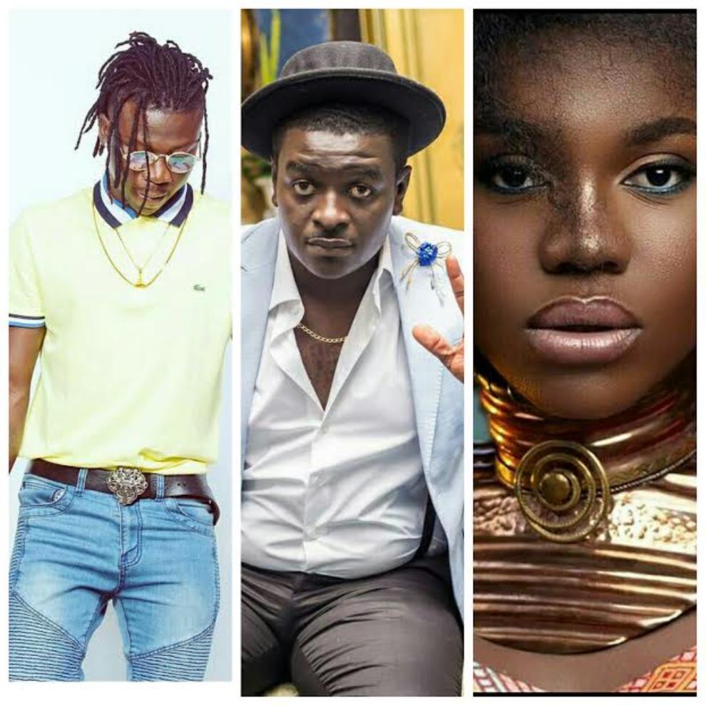 Stonebwoy, Kumi Guitar, Becca & More Nominated For The 2017 Ghana Music Awards UK