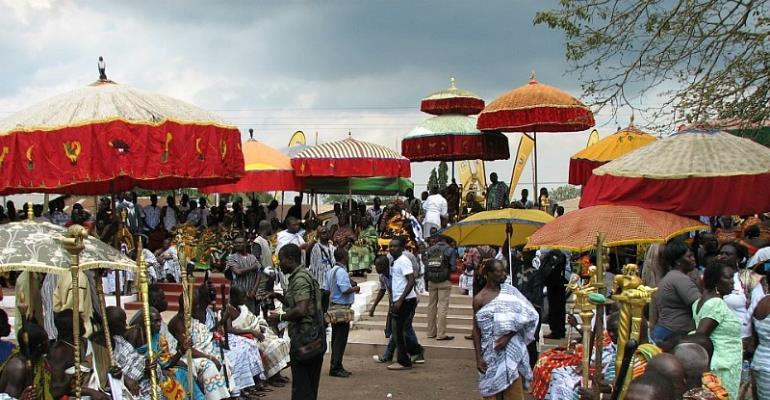 Chief Orders Arrest Of 'Nude' Ladies At Akwambo Festival