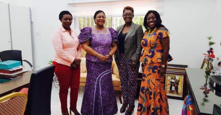 First Lady pledges support for Black Star International Film Festival