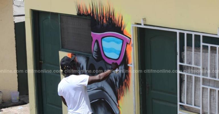 Artists storm Chale Wote Street Art Festival [Photos]