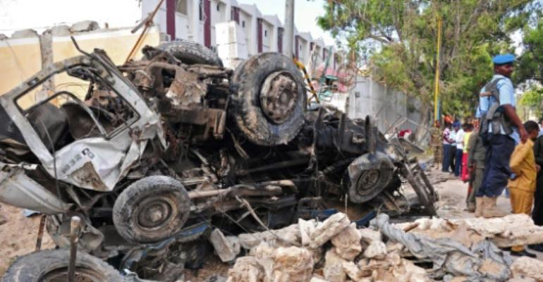 Three US strikes in Somalia kill 'several' militants