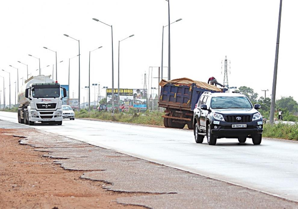 Minister Hints Tema Motorway Squatters To Be Chased Out